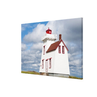 Rustico Harbour, Prince Edward Island. Canvas Print