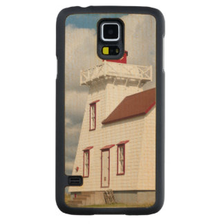 Rustico Harbour, Prince Edward Island. Carved® Maple Galaxy S5 Slim Case