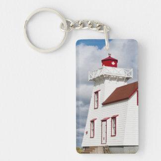 Rustico Harbour, Prince Edward Island. Keychain