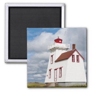 Rustico Harbour, Prince Edward Island. Magnet