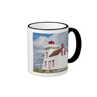 Rustico Harbour, Prince Edward Island. Ringer Coffee Mug