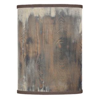 rústico, llevado, madera, marrón, pared, vintage, pantalla de lámpara