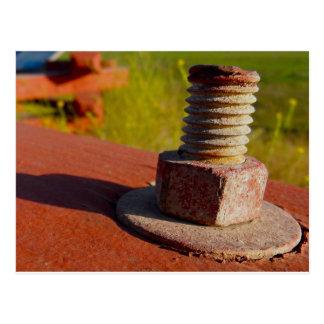 Rusting Bolt Postcard