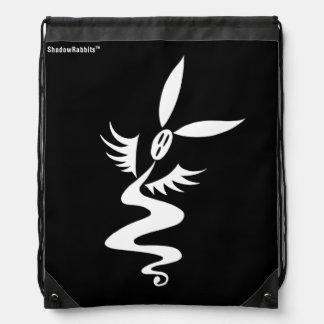 Rustle the Shadow Rabbit Drawstring Bag