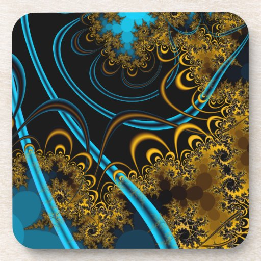 Rustling Leaves Coasters