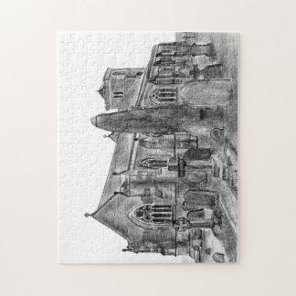 Ruston Church jigsaw Jigsaw Puzzle