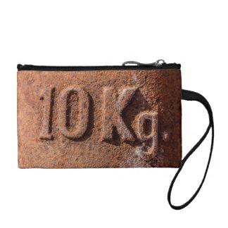Rusty 10 kg coin purse