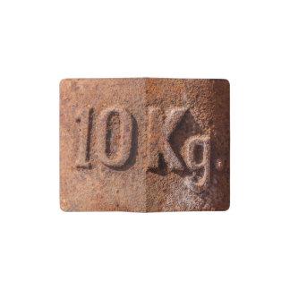 Rusty 10 kg pocket moleskine notebook