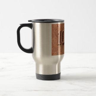 Rusty 10 kg travel mug