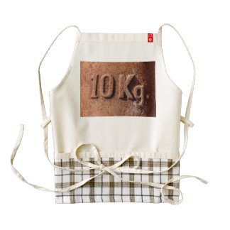 Rusty 10 kg zazzle HEART apron