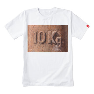 Rusty 10 kg zazzle HEART T-Shirt