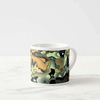 Rusty abstract espresso cup