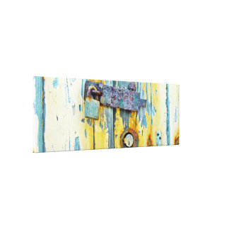 Rusty Abstract  Gallery Wrap Canvas