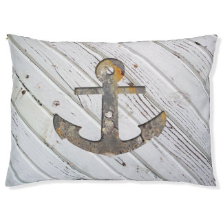 Rusty Anchor Dog Bed