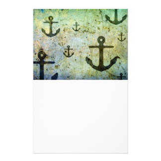 Rusty Anchors Artwork Stationery