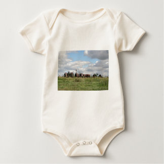 rusty antiques waiting baby bodysuit