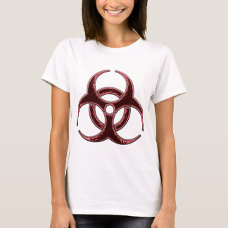 Rusty Bio Hazard Symbol T-Shirt