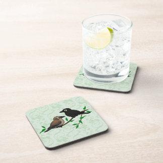 Rusty Blackbird Pair Coaster
