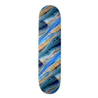 rusty blue driftwood boards Thunder_Cove Skateboard