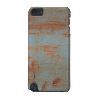 Rusty Blue Metal Texture 2 iPod Touch Case