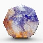 "Rusty Blue Quartz Crystal Award<br><div class=""desc"">Rusty Blue Quartz Crystal</div>"
