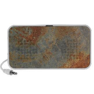 Rusty Blue Stone Wall Texture Portable Speaker
