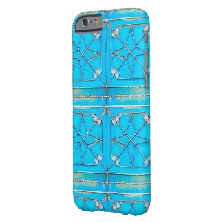 Rusty Blue Vintage Al Kharj Door Barely There iPhone 6 Case