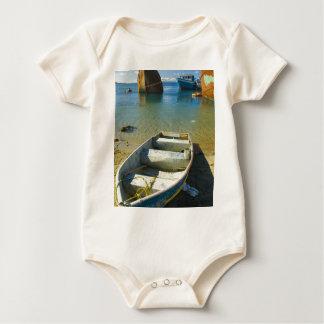 Rusty Boat Baby Bodysuit