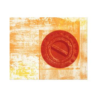 Rusty Bolt Industrial Modern Art Canvas Canvas Prints