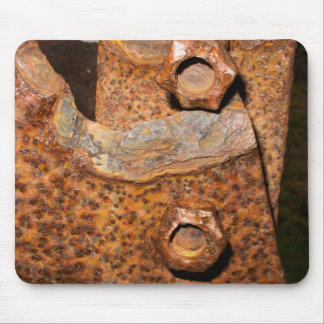 Rusty Bolts and Screws Mousepad