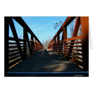 RUSTY BRIDGE. CARD