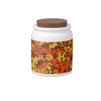rusty brown art burn smoke Abstract Antique Junk S Candy Jars