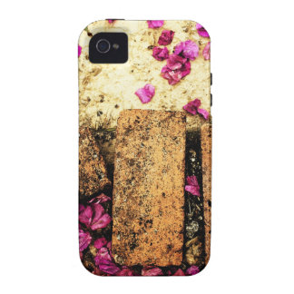 rusty brown art burn smoke Abstract Antique Junk S Case-Mate iPhone 4 Cover