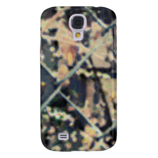 rusty brown art burn smoke Abstract Antique Junk S Galaxy S4 Cover