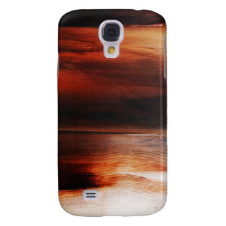 rusty brown art burn smoke Abstract Antique Junk S Samsung Galaxy S4 Cover