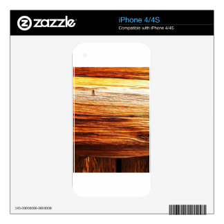 rusty brown art burn smoke Abstract Antique Junk S Skin For The iPhone 4S