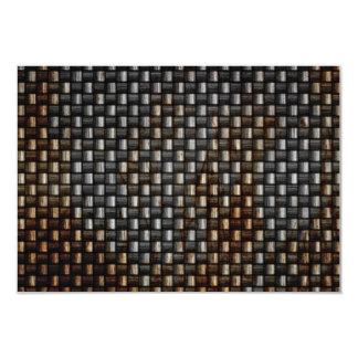 rusty carbon fiber texture card