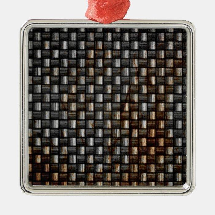 rusty carbon fiber texture metal ornament