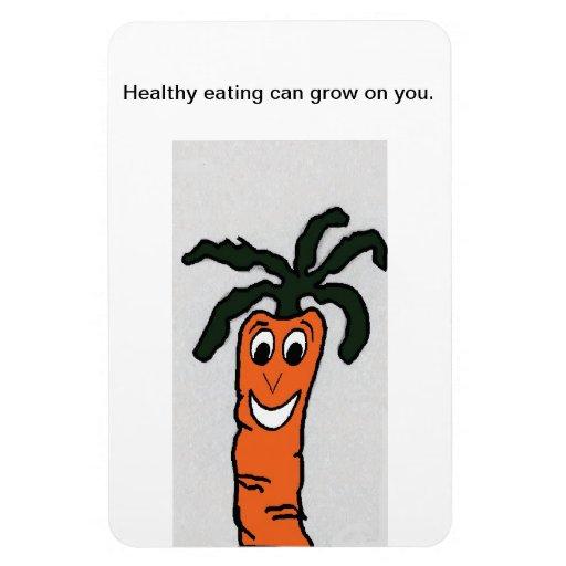 Rusty- Carrot Magnet