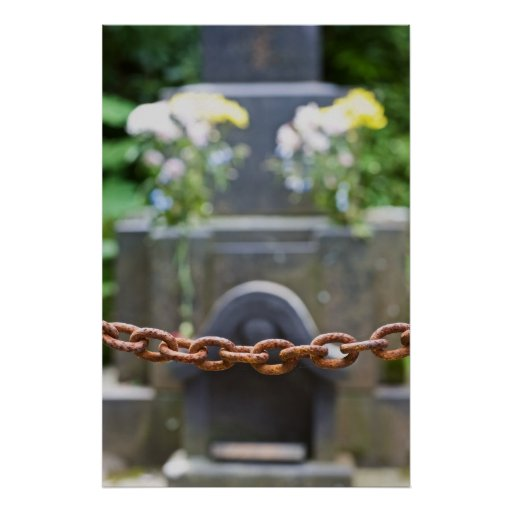 Rusty Chain Barring Grave Poster
