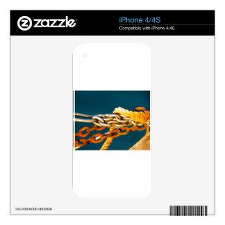 Rusty Chain iPhone 4S Skins