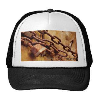 RUSTY CHAIN TRUCKER HAT