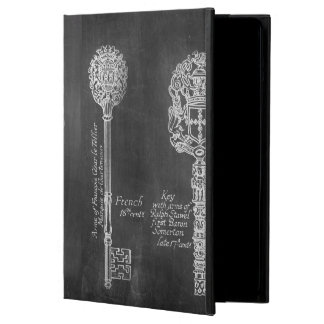 Rusty Chalkboard Victorian steampunk skeleton keys Cover For iPad Air