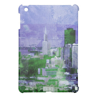 rusty city purple n green cover for the iPad mini