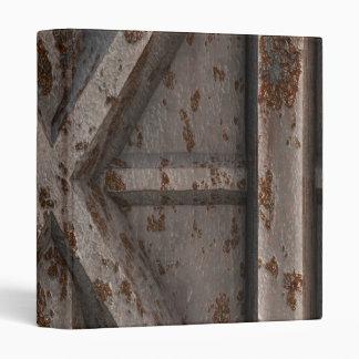 Rusty Container - Beige - 3 Ring Binder