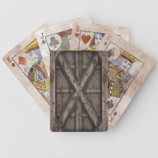 Rusty Container - Beige - Bicycle Playing Cards