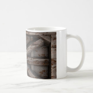 Rusty Container - Beige - Coffee Mug