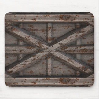 Rusty Container - Beige - Mouse Pad