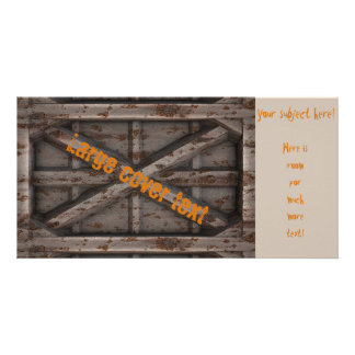 Rusty Container - Beige - Picture Card