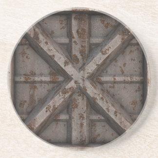 Rusty Container - Beige - Sandstone Coaster